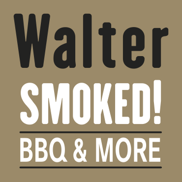 Logo Walter Smoked! BBQ Catering